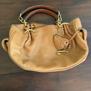 Tan Leather Juicy Couture Shoulder bag